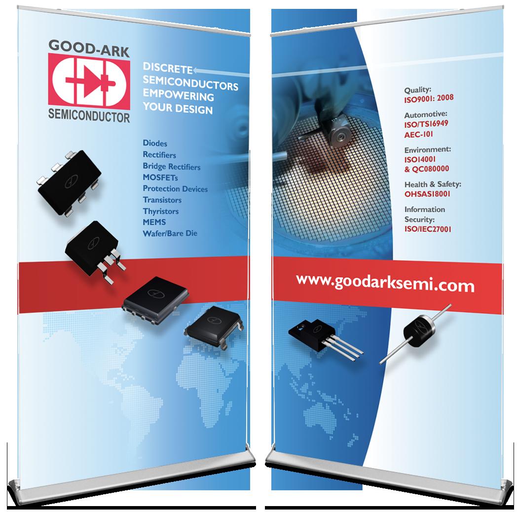 Tradeshow Graphic for Semiconductor Company